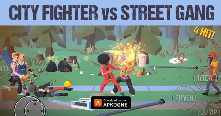 City Fighter vs Street Gang MOD APK 2.1.6 Download (Unlimited money) for Android