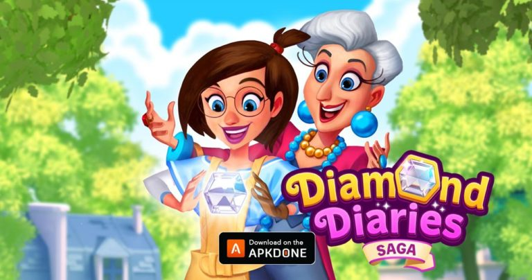 Diamond Diaries Saga MOD APK 1.43.2 Download (Unlimited Money) for Android