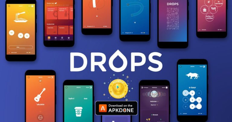 Drops Language learning MOD APK 35.82 Download (Premium) free for Android