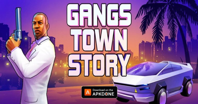 Gangs Town Story MOD APK 0.14c Download (Free Shopping) for Android