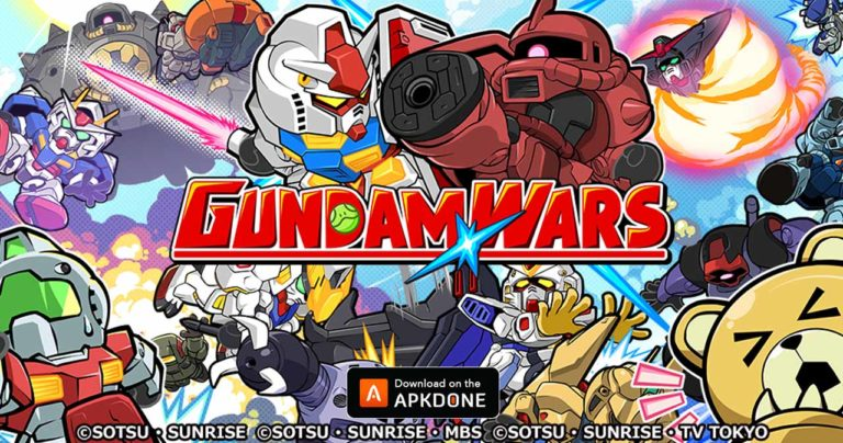 GUNDAM WARS MOD APK 7.5.2 Download (Unlimited Money) for Android
