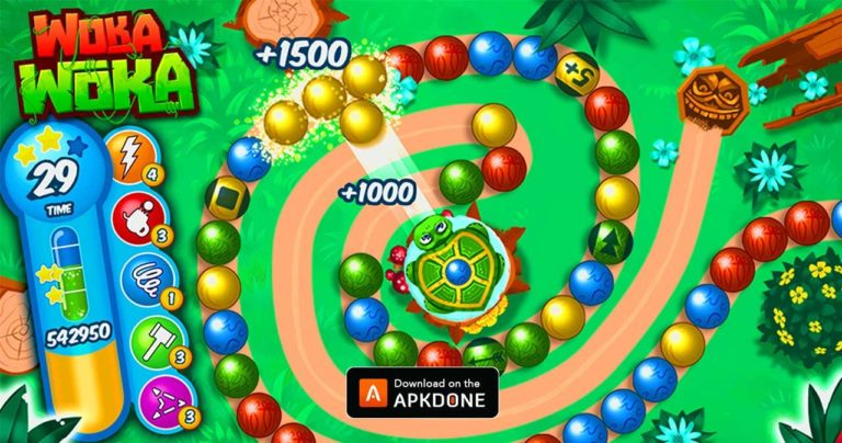 Marble Woka Woka MOD APK 2.033.05 Download (Unlimited Money) for Android