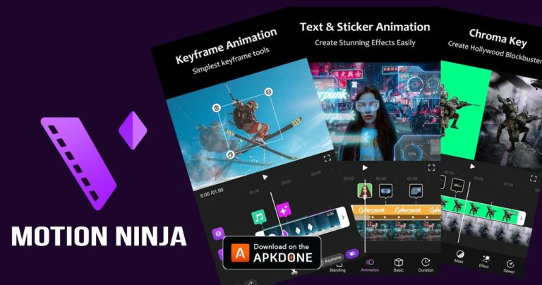 Motion Ninja MOD APK 1.3.5 Download (Unlocked) free for Android