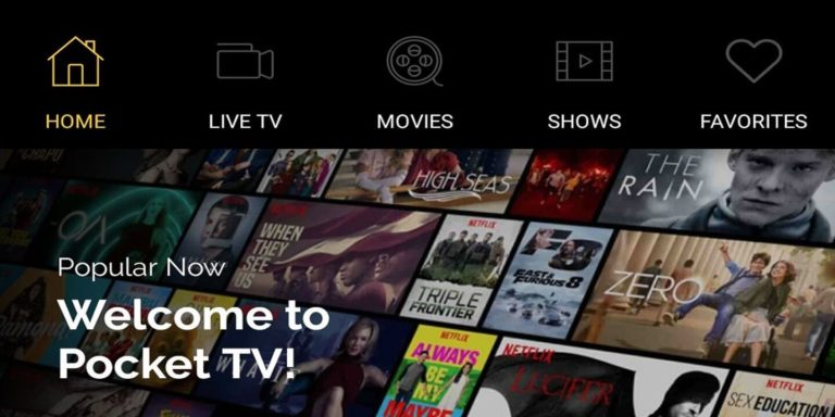 POCKET TV APK 4.3.0 Download for Android (Latest Version)