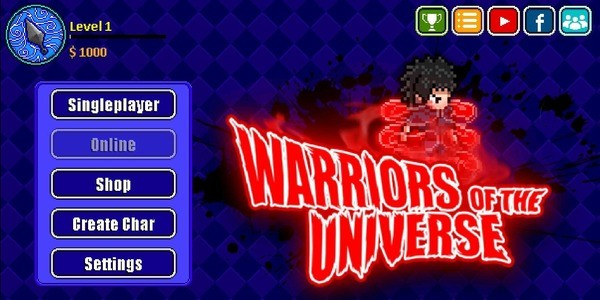 Warriors of the Universe Mod APK (Unlimited Money) 1.6.8