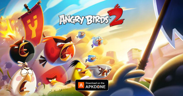 Angry Birds 2 MOD APK 2.55.2 Download (Infinite Gems/Energy) for Android