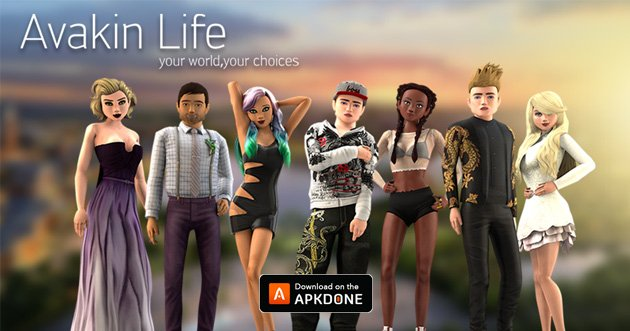 Avakin Life MOD APK 1.052.02 (Unlocked) for Android