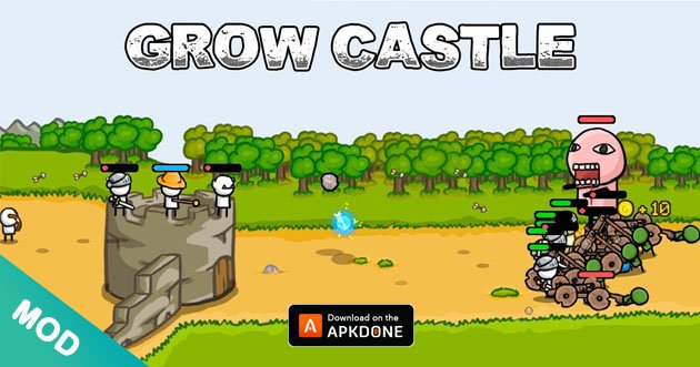 Grow Castle MOD APK 1.35.1 Download (Unlimited Coins) for Android