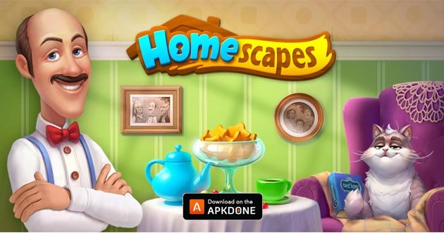 Homescapes MOD APK 4.7.2 Download (Unlimited Stars) for Android