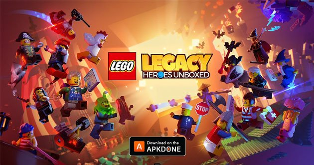 LEGO Legacy: Heroes Unboxed MOD APK 1.8.5 for Android