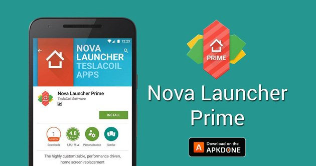 Nova Launcher Prime MOD APK 7.0.39 Download (Prime Patched) free for Android