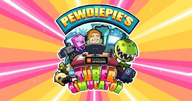 PewDiePie's Tuber Simulator MOD APK 1.73.0 (Unlimited Money) for Android