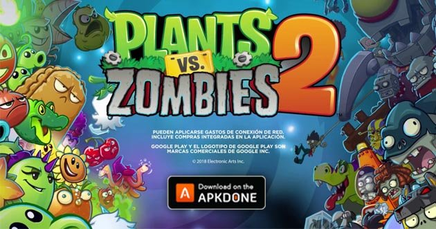 Plants vs Zombies 2 MOD APK 9.0.1 (Unlimited Coins/Gems) for Android