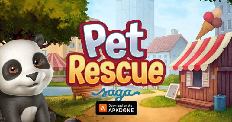 Pet Rescue Saga MOD APK 1.300.21 Download (Unlimited Lives/Boosters) for Android